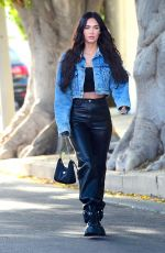 MEGAN FOX Out and About in West Hollywood 04/11/2021