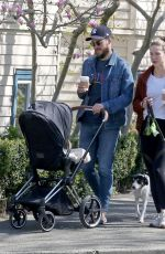 MELISSA BENOIST Out with Her Family in Vancouver 04/21/2021
