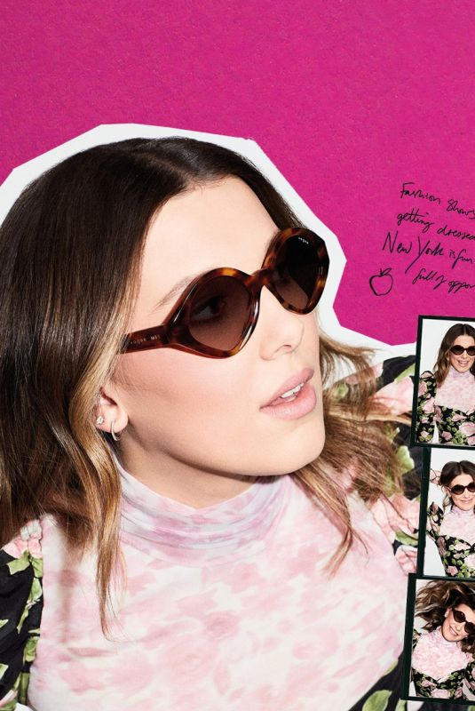 MILLIE BOBBY BROWN for Vogue Eyewear, March 2021