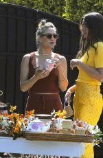MIRANDA KERR Surprises KATE HUDSON and SARA FOSTER in Los Angeles 04/14/2021