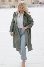 MOLLIE KING Arrives at BBC Radio in London 04/09/2021