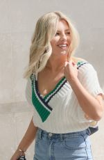 MOLLIE KING at BBC Studios in London 04/16/2021