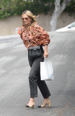 MOLLY SIMS Out and About in Los Angeles 04/12/2021
