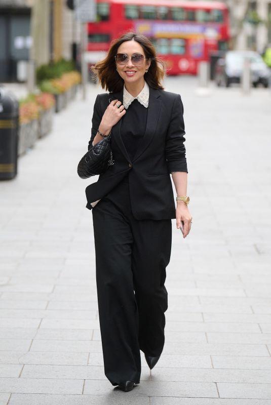 MYLEENE KLASS Arrives at Global Radio in London 04/08/2021