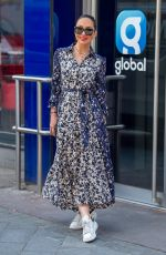 MYLEENE KLASS Arrives at Global Studios in London 04/29/2021
