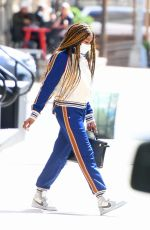 NAOMI CAMPBELL Out and About in New York 04/22/2021