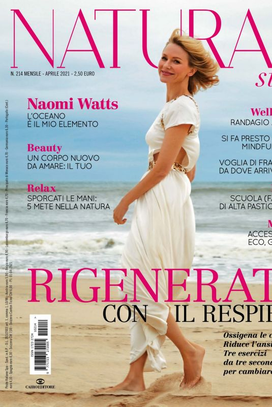 NAOMI WATTS in Natural Style Magazine, April 2021