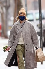 NAOMI WATTS Out with Her Dog in New York 04/02/2021