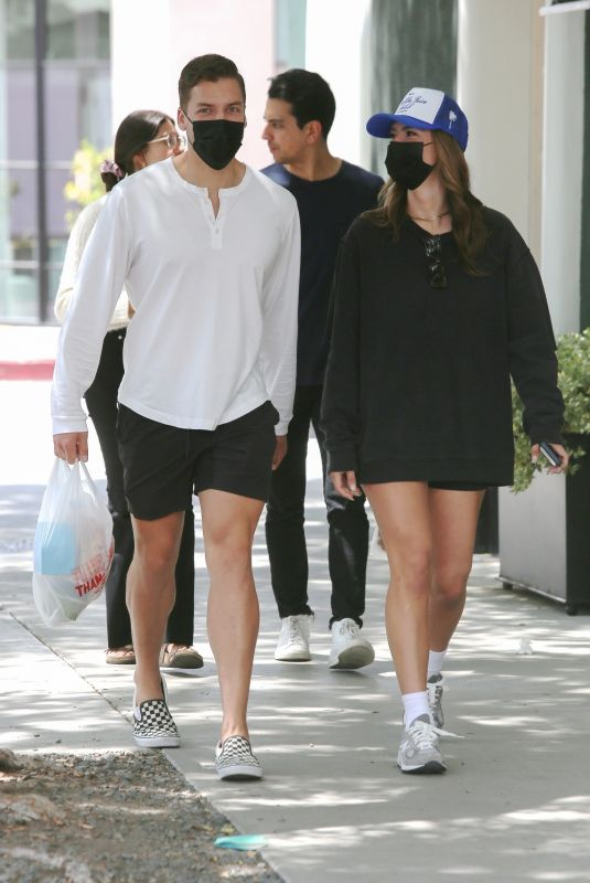 NICKY DODAJ Out for Coffee in West Hollywood 04/25/2021