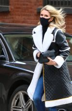 NICKY HILON Out and About in New York  04/22/2021