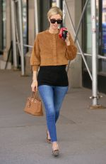 NICKY HILTON Out for Coffee at Starbucks in New York 04/06/2021