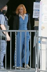 NICOLE KIDMAN on the Set of Being the Ricardos in Los Angeles 04/27/2021