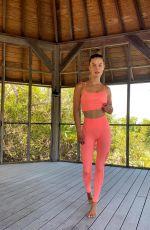 NINA AGDAL for DKNY Sport - Instagram Photos and Videos 04/29/2021