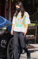 NINA DOBREV Leaves a Plant Nursery in Los Angeles 04/06/2021