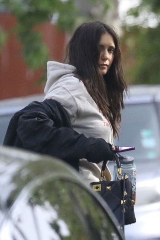 NINA DOBREV Out and About in Los Angeles 04/14/2021