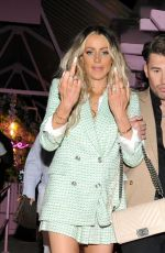 OLIVIA ATTWOOD Leaves Boujee Bar in Manchester 04/23/2021