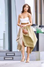 OLIVIA CULPO Leaves a Business Meeting in Beverly Hills 04/27/2021