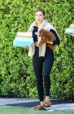 OLIVIA CULPO Leaves a Gym with Her Dog in Los Angeles 04/28/2021