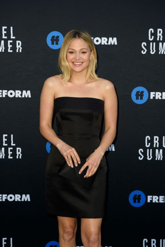OLIVIA HOLT at Cruel Summer Premiere in Los Angeles 04/15/2021