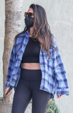 OLIVIA MUNN Leaves Rise Nation Gym in West Hollywood 04/15/2021