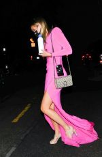 OLIVIA PONTON Leaves at Oscars Party in Bel Air 04/25/2021