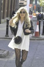 PAIGE TURLEY Leaves Ducie Street Warehouse in Manchester 04/22/2021