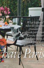 PARIS HILTON in Tatler Magazine, UK May 2021