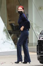 PRISCILLA PRESLEY Out in Beverly Hills 04/13/2021