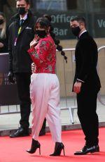 PRIYANKA CHOPRA and Nick Jonas Arrives at 2021 British Academy Film Awards 04/11/2021