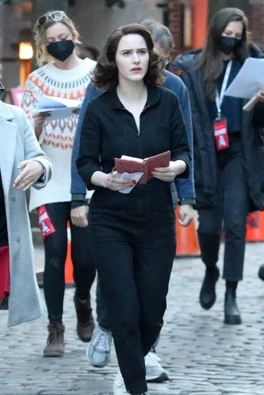 RACHEL BROSNAHAN on the Det of The Marvelous Mrs. Maisel 04/24/2021