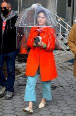 RACHEL BROSNAHAN on the Set of The Marvelous Mrs Maisel in New York 04/13/2021