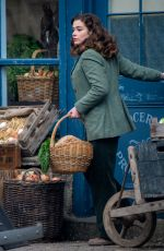 RACHEL SHENTON on the Set of All Creatures Great And Small in North Yorkshire 04/07/2021