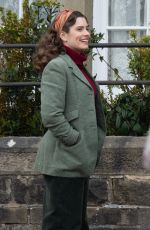 RACHEL SHENTON on the Set of All Creatures Great And Small in North Yorkshire 04/10/2021