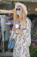 RACHEL ZOE at Starbucks Coffee at Malibu Country Mart 04/10/2021