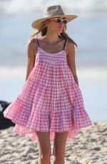 REBECCA JUDD Out at a Beach in Sdyney 04/12/2021
