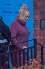 REBEL WILSON on the Set of The Almond And The Sea Horse in Wrexham 04/12/2021