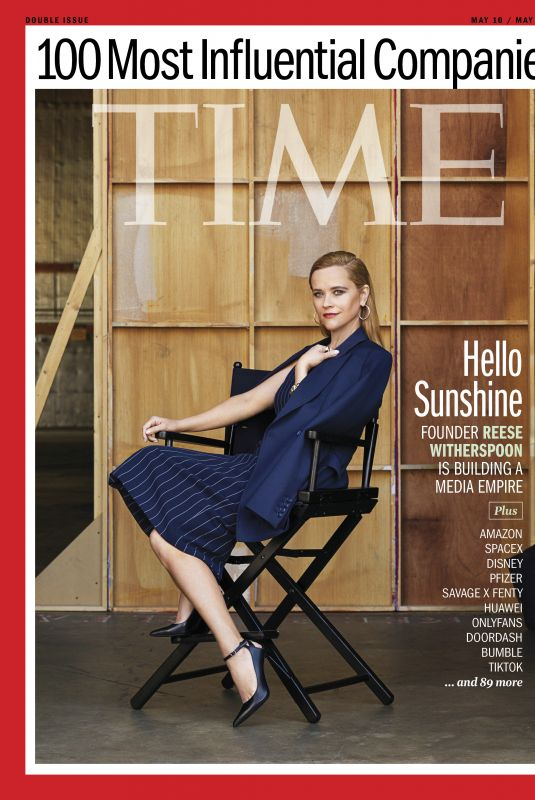 REESE WITHERSPOON for Time Magazine, May 2021