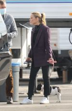 REESE WITHERSPOON on the Set of The Morning Show in Los Angeles 04/12/2021