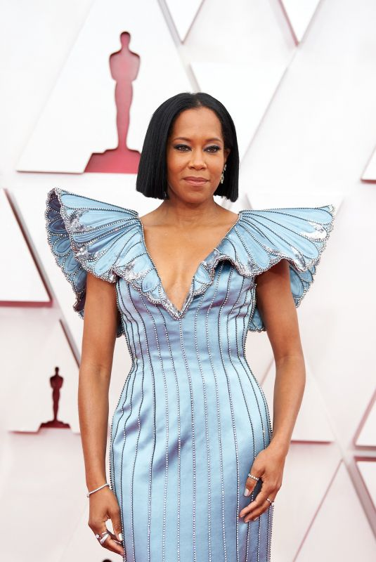 REGINA KING at 93rd Annual Academy Awards in Los Angeles 04/25/2021