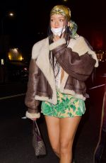 RIHANNA at The Nice Guy in Los Angeles 04/10/2021