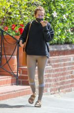RILEY KEOUGH Out and About in Beverly Hills 04/15/2021