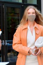 ROSIE HUNTINGTON-WHITELEY Out in New York 04/14/2021
