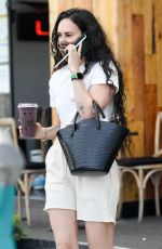 RUMER WILLIS Out for Juice at Kreation in West Hollywood 04/14/2021