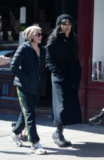SADIE FROST Out with a Friend in Primrose Hill 04/18/2021