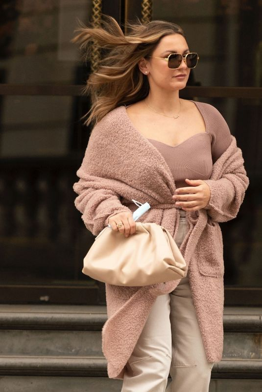 SAM FAIERS Out and About in London 04/28/2021