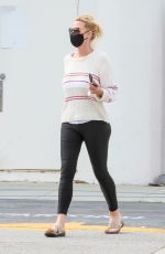 SANDRA LEE Out and About in Los Angeles 04/13/2021