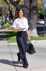 SARA SAMPAIO Out and About in Los Angeles 04/07/2021