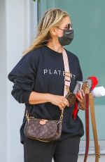 SARAH MICHELLE GELLAR Out in Brentwood 04/15/2021