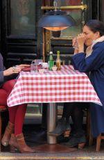 SARITA CHOUDHURY at Cafe Fanelli in New York 04/04/2021