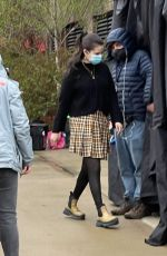SELENA GOMEZ and AMY RYAN on the Set of Only Murders in the Building in New York 04/12/2021